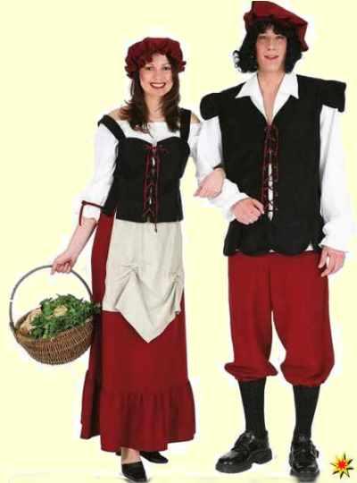 Karnevalskostüm Bäuerin
