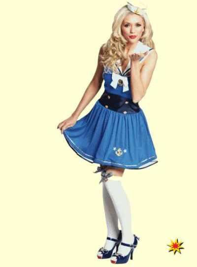 kostüm Matrosin kleid